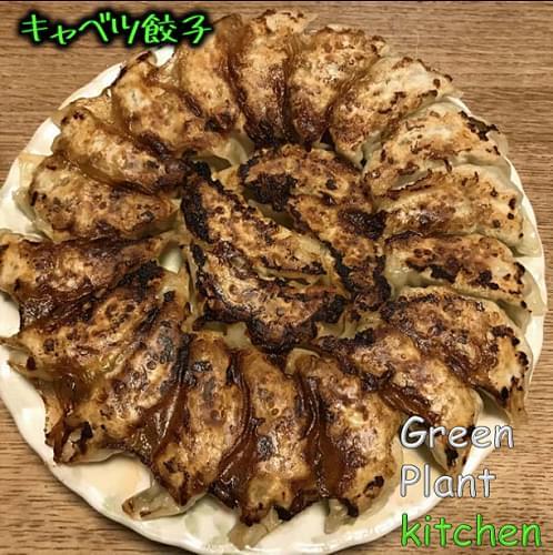 #旬野菜~キャベツのおいしい餃子!!